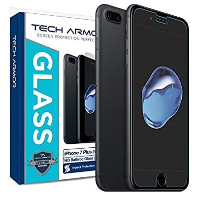 "Tech Armor Apple iPhone 7 Plus (5.5"") Screen Protector"