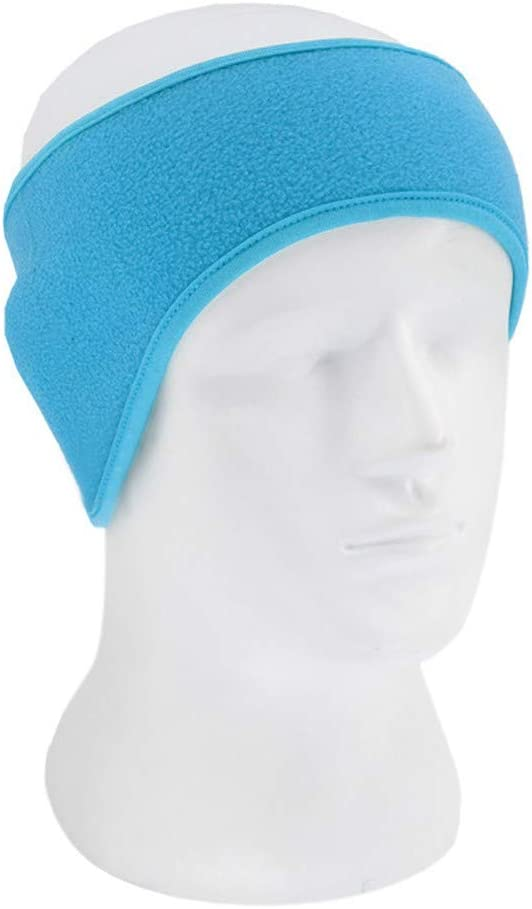 D Sikye Fitness Headband,Winter Polar Fleece Ear Warmer for Men Women Ski Ear Muff Hair Band