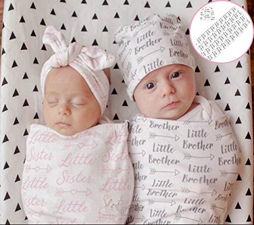 Mummyhug Newborn Receiving Blanket Sleeping Bag Baby Swaddle Wrap , Little Brother , Standrad -