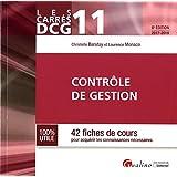 Contrôle de gestion DCG 11 : 42 fiches de cours