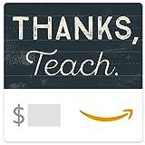 Amazon eGift Card - Thank You Teacher (Chalkboard)