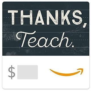 Amazon eGift Card - Thank You Teacher (Chalkboard) (B01MQWK8CY)   Amazon price tracker / tracking, Amazon price history charts, Amazon price watches, Amazon price drop alerts