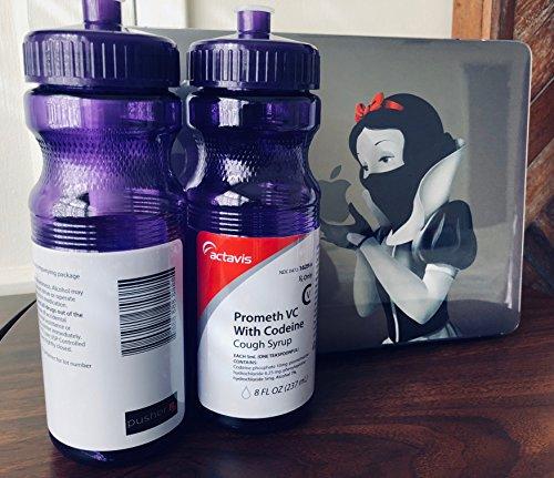 Sizzurp Lean Purple Drank Water Bottle (purple)