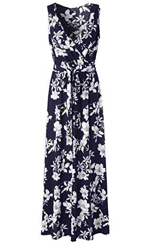 Floral Jersey Wrap Dress - 4