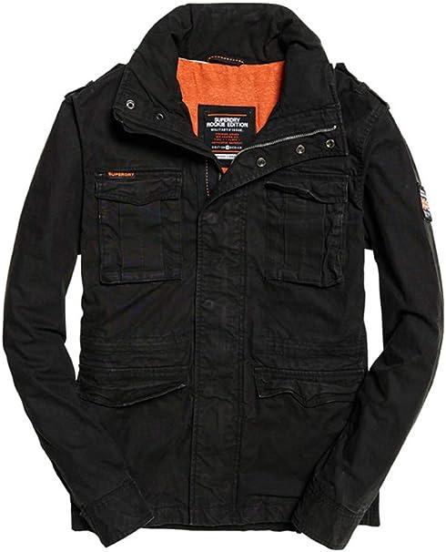 TALLA XL. Superdry Classic Rookie Military Jacket Abrigo para Hombre