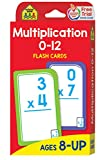 Books : Multiplication 0-12 Flash Cards