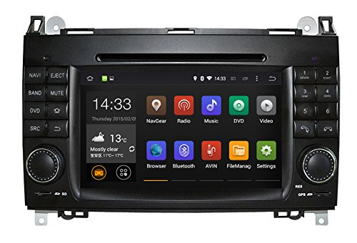 Android 5.1 Car DVD Player GPS Navigation for Mercedes Benz A / B Class W169 W245 Viano Vito Sprinter with Radio Bluetooth