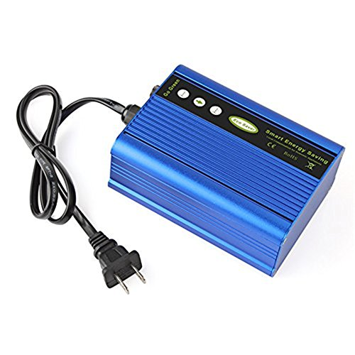 50KW Power Energy Saver Saving Box, Electricity Bill Killer Up to 35% US Plug Blue Electrical Meter Sockets - India Cooler Online