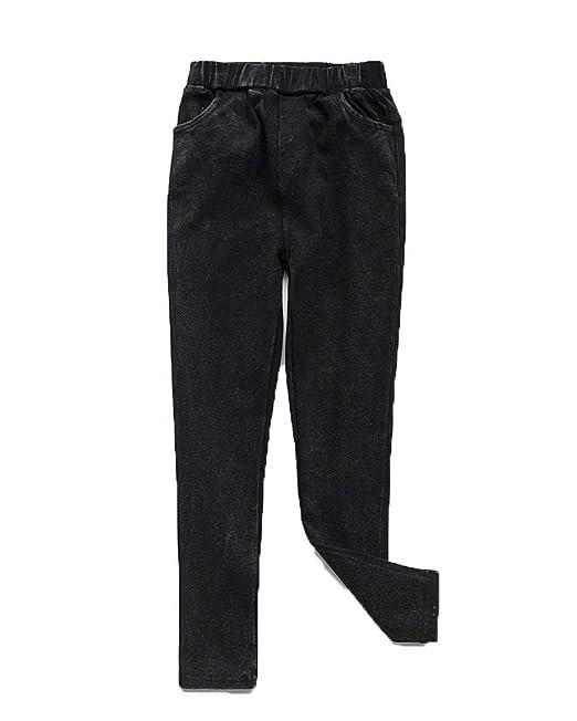 Flairstar Imitación Pantalones De Mezclilla Niña Estampado ...