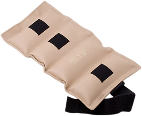 the DELUXE Cuff_ Ankle and Wrist Weight - 15 lb - Tan