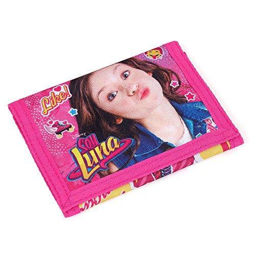 S A F T A - SOY LUNA - Cartera Pink-türkis 12;2 x 9 x 1,5 CM: Amazon.es: Equipaje