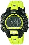 Timex Men's TW5M02500 Ironman Rugged 30 Neon Green Resin Strap Watch