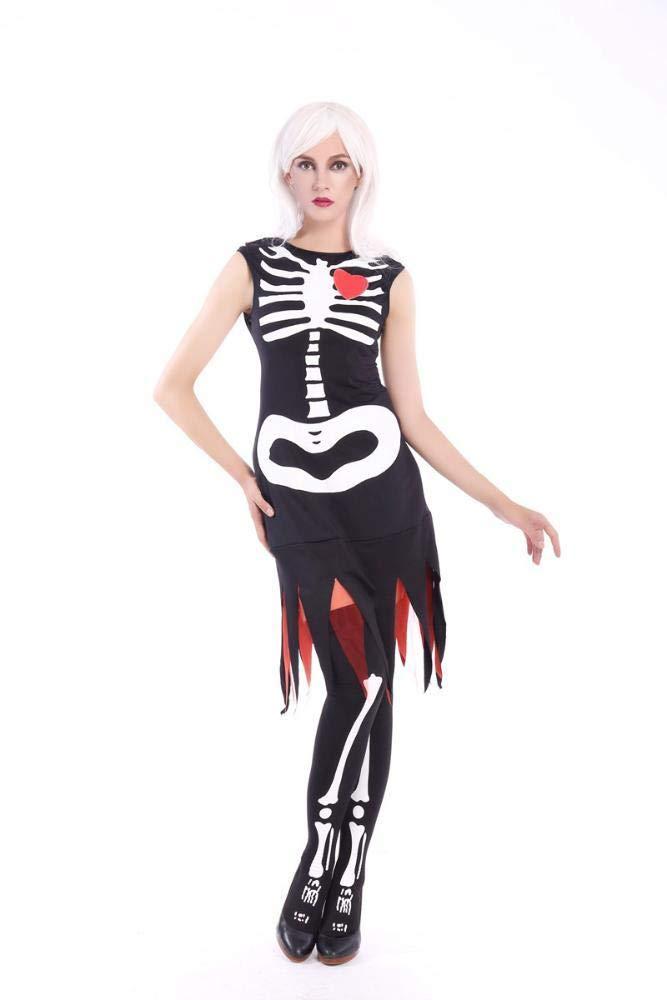 Shisky Costume Cosplay Femme, Costume Halloween Costumes Adulte Costume de vêtements pour Dames Costume Halloween Costumes Adulte Costume de vêtements pour Dames