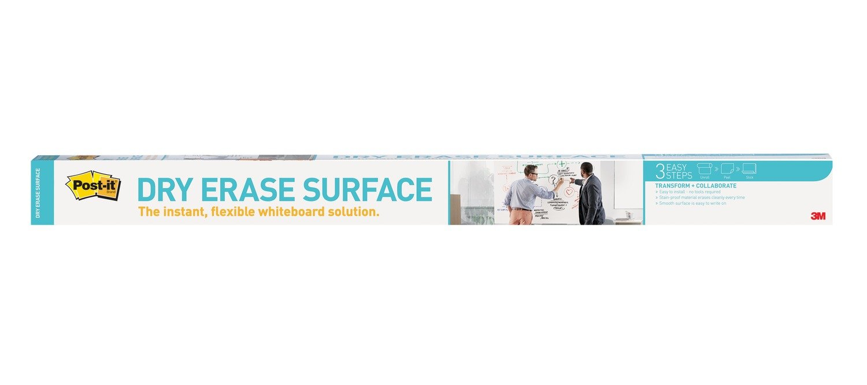 Post-it Dry Erase Surface, 3 x 2-Feet DEF3x2-C