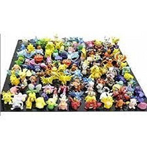 Fun Brick TM Pokemon Pikachu Monster Mini Action Figures Toy