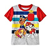CAN Paw Patrol Toddler Boys Short Sleeve Graphic