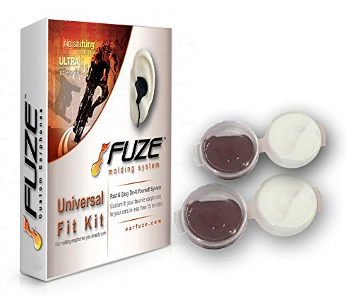 FUZE Custom Molded Fit Kit - for earphones headphones ear earplug noise isolating earbuds Motorcycle, Racing, Sports, Motorsports Helmet Speakers