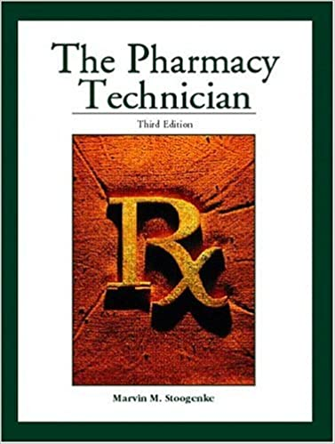 The pharmacy technician 3rd edition 9780130606297 medicine the pharmacy technician 3rd edition 3rd edition fandeluxe Images