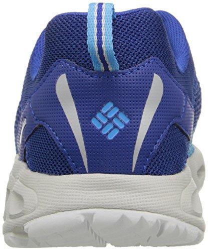 Columbia Drainmaker Iii - Zapatos de Low Rise Senderismo Hombre Blanco (Azul/Blanco)
