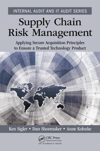 Supply Chain Risk Management: Applying Secure Acquisition Principles to Ensure a Trusted Technology Product (Internal Audit and IT Audit)