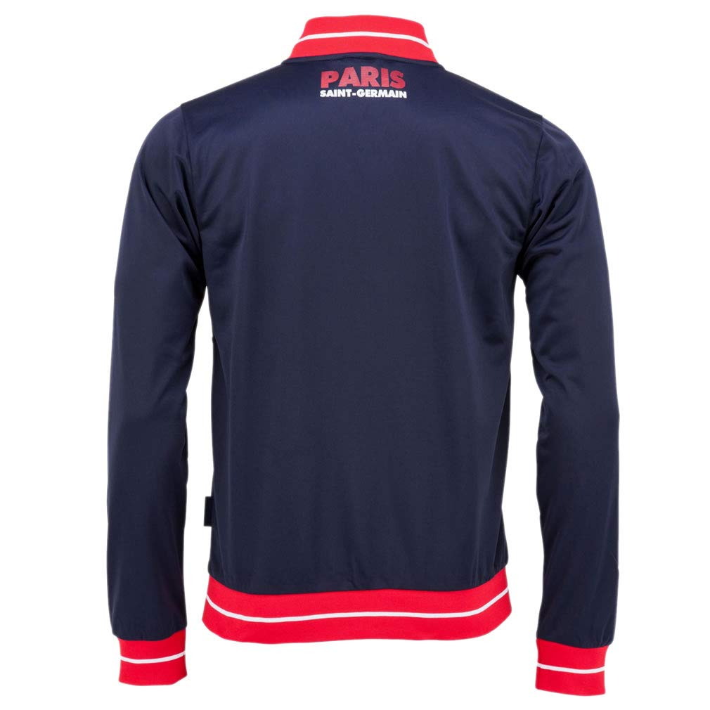 PSG - Official Paris Saint-Germain Kids Sports Jacket - Blue, Red (4 Years) by PSG Paris Saint-Germain (Image #2)
