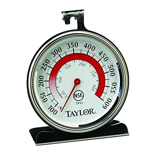 Taylor 5932 Classic Stainless Steel Oven Thermometer Taylor Classic Oven Thermometer