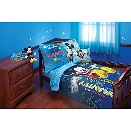 4 Piece Multi Color Disney Mickey Mouse Zero Gravity Adventu