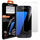 Spigen® Samsung Galaxy s7 Screen Protector **Easy-Install Kit** Samsung Galaxy s7 Tempered Glass [Anti-Scratch] Samsung Galaxy s7 Glass Screen Protector *Ultra Clear* Samsung Galaxy s7 Tempered Glass Screen Protector (555GL20002)