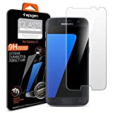 Spigen Samsung Galaxy s7 Screen Protector **Easy-Install Kit** Samsung Galaxy s7 Tempered Glass [Anti-Scratch] Samsung Galaxy s7 Glass Screen Protector *Ultra Clear* Samsung Galaxy s7 Tempered Glass Screen Protector (555GL20002)