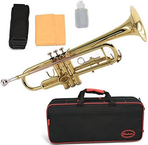 Trompeta de latón conductor – Serie II, con estuche de lujo y accesorios
