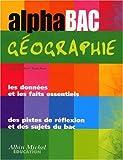 Alphabac géographie, terminale