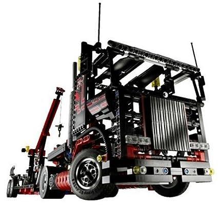 Lego Jeu Géant Remorque De Technic Construction Camion Le 80wOPkZNnX