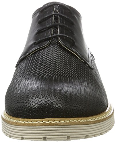Marc Shoes Dover, Zapatos de Cordones Derby para Hombre Schwarz (Schwarz)
