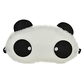 d3123d49df6 Buy Jenna Round Panda Sleeping Eye Mask Online at Low Prices in India -  Amazon.in