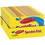 SWEDISH FISH Soft & Chewy Candy, 12 - 3.1 oz Boxes