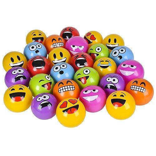 8-PACK of 5 Emoji Vinyl Playground Balls by M /& M Products Online SG/_B01KMP634Y/_US