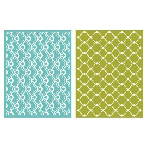 QUICKUTZ We R Memory Keepers Whimsy Embossing Folder, 2-Pack by QUICKUTZ