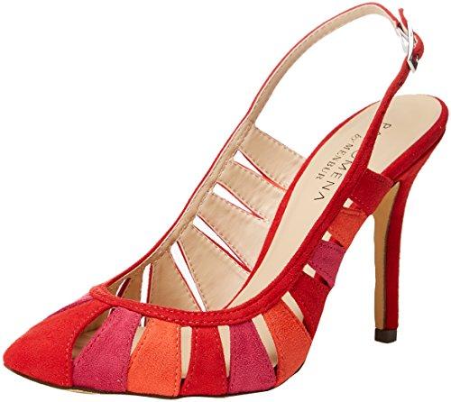 07 Correa Con De Sandalias Menbur Rojo Tobillo rot Mujer Para Benin gqvxqUnwP