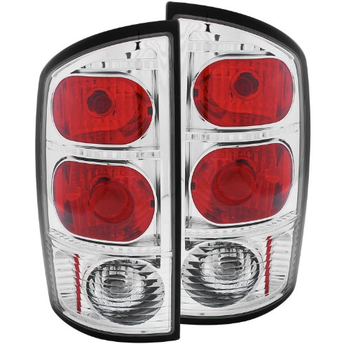 Tail Light Mounting Pad - Anzo USA 211043 Dodge Ram Chrome Tail Light Assembly - (Sold in Pairs)