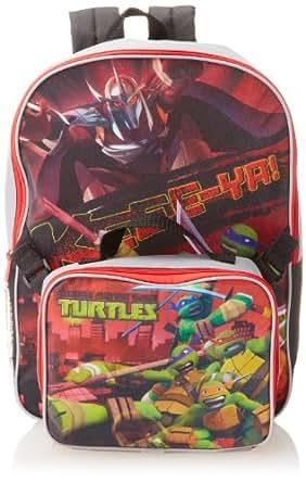 Nickelodeon Little Boys' Teenage Mutant Ninja Turtles Shredder Backpack Lunchbox