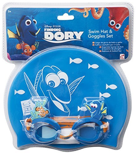 Sambro DDO-7071 Finding Dory Swim Hat and Goggles set by Sambro