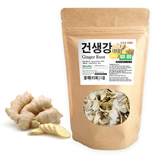 [Medicinal Korean Herb] Ginger Root (Shengjiang/말린 생강) Dried Bulk Herbs 4oz (113g)