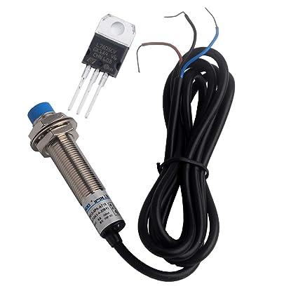 LJ12A3-4-Z/BY Interruptor de proximidad L7805CV regulador de ...
