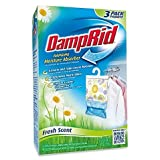 Damp Rid Hanging Moisture Absorber, Fresh Scent, Set of 3 (Pack of 1)