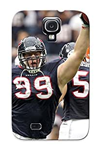 Case Provided For Galaxy S4 Protector Case Houston Texans Nfl Football Cleveland Browns Phone Cover With Appearance by ruishername