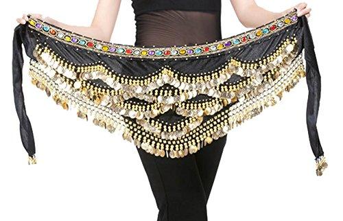 Aivtalk Belly Dance Scarf Costume
