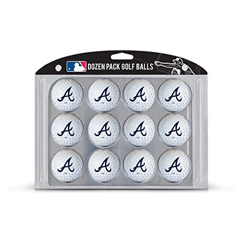 MLB Atlanta Braves Golf Balls, 12 Pack