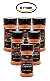 PACK OF 6 - Charlie Vergos Rendezvous Famous Seasoning, 4.5 oz