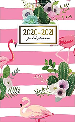 2020-2021 Pocket Planner: Cute Lined Two-Year (24 Months ...