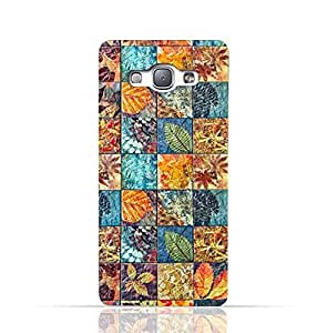 Samsung Galaxy A8 2015 TPU Silicone Case With Old Handcraft Tile Pattern Design